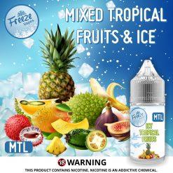 Tropical Fruits Advert