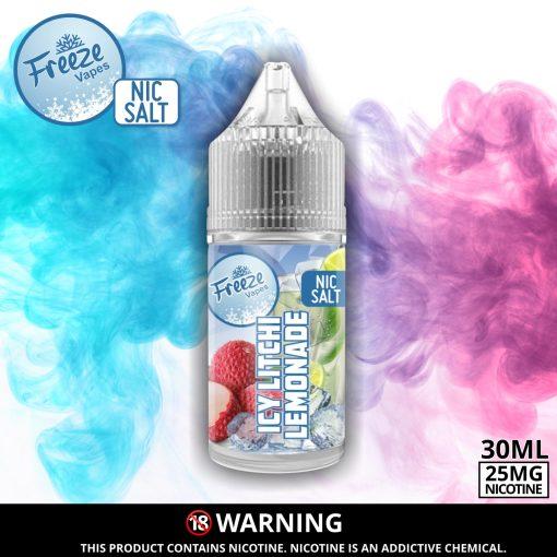 Litchi Lemonade Nic Salt Advert