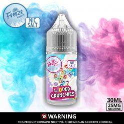 Looped Crunchies Nic Salt Advert