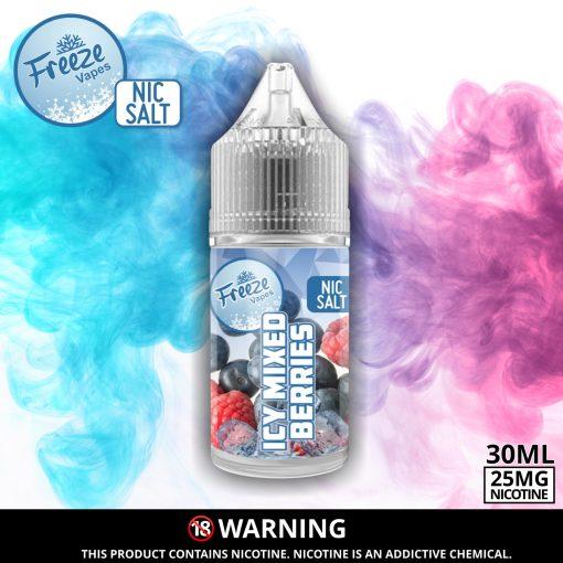Mixed Berries Nic Salt Advert